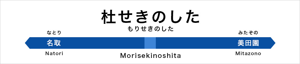 morisekinoshita station